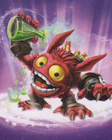 Skylanders Swap Force Magic Super Gulp Pop Fizz Coloring Page | H ... | 450x360