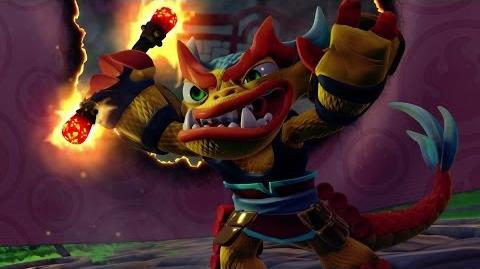Skylanders Short Cuts Fire Kraken