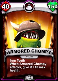 Iron Teeth - Special Abilitycard