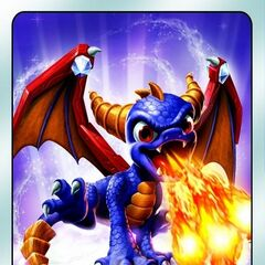 Carta de spyro en skylanders giants