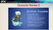 Bubble Trouble concept