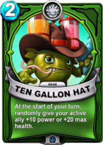 Ten Gallon Hat - Engranecard