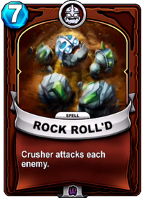 Rock Roll'dcard