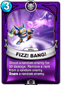 Fizz! Bang!card