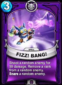 Fizz! Bang!card