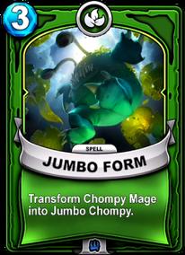 Jumbo Formcard