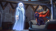 Master Eon talking to Spyro