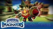 Official Skylanders Imaginators Meet Master Flare Wolf
