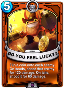 Do You Feel Lucky?card