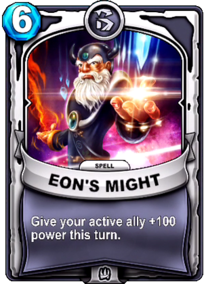 Eon's Mightcard