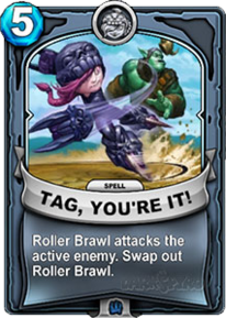 Tag! You're It!card