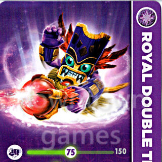 Carta de Royal Double Trouble