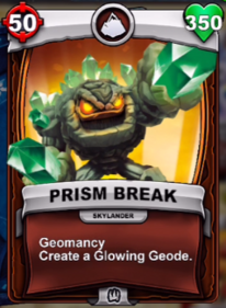 Geomancy - Habilidad especialcard