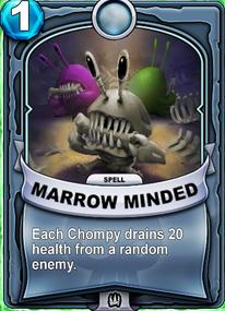 Marrow Mindedcard