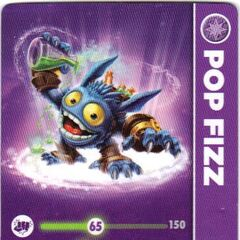 Carta de Pop Fizz serie 1