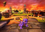 Spyro initial screenshot