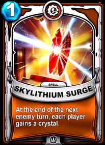 Skylithium Surgecard