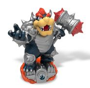Dark Bowser toy