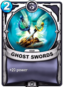 Ghost Swords - Gearcard