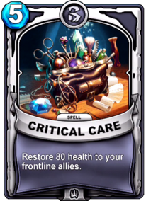 Critical Carecard