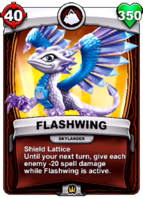 Special Ability - Shield Latticecard