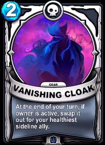 Vanishing Cloak - Engranecard