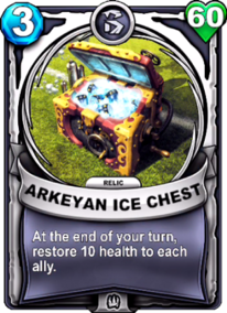 Arkeyan Ice Chest - Reliccard