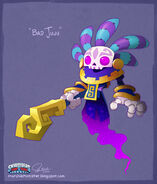 Bad juju concept from skylanders trap team by murchiemonster-d9bvbkg