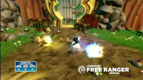 Meet the Skylanders Legendary Free Ranger LG