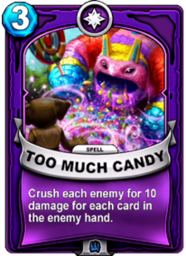 Too Much Candycard