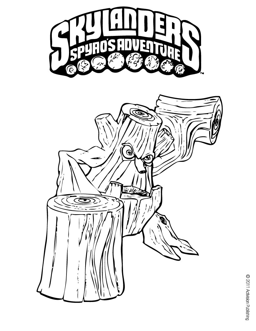 Image coloriage stump smash ks9 skylanders wiki fandom powered by wikia - Coloriage eye brawl ...