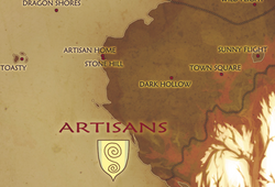Artisans map