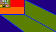 Dragon peak flag