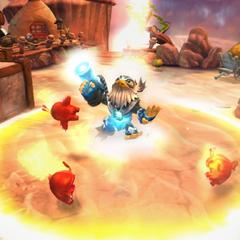 Jet-Vac Lightcore apparaît dans le jeu