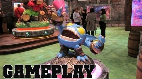 SKYLANDERS GIANTS Pop Fizz Preview Gameplay