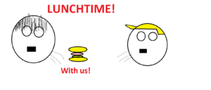 Lunchtime with us