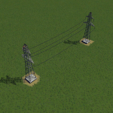 In-game power line