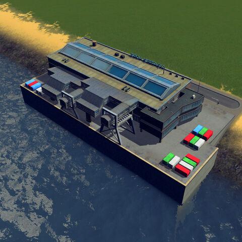 In-game harbor