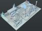 Geothermal heating plant
