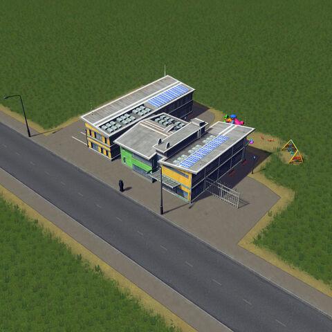 In-game elementary school