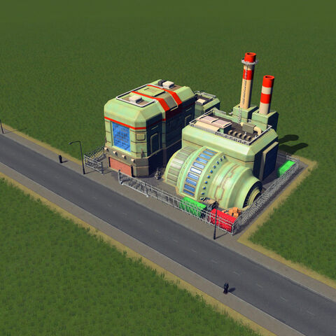 In-game coal power plant