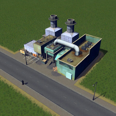 In-game incineration plant