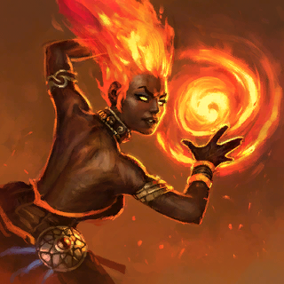 Firedancer (Promo) Card Artwork