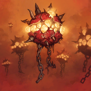 Magma Spore Card Artwork