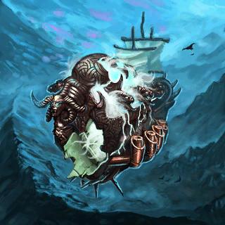 Lost Spirit Ship Card Artwork