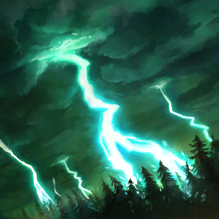 Thunderstorm Card Artwork