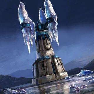 Frost Crystal Card Artwork