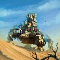 Command Walker Entity Artwork