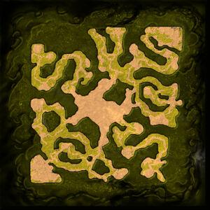 The Insane God Minimap