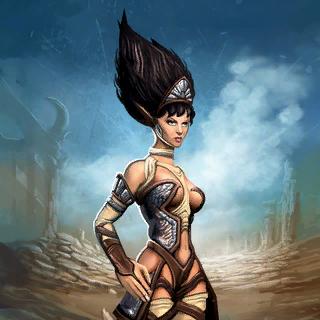 Bandit Sorceress Card Artwork